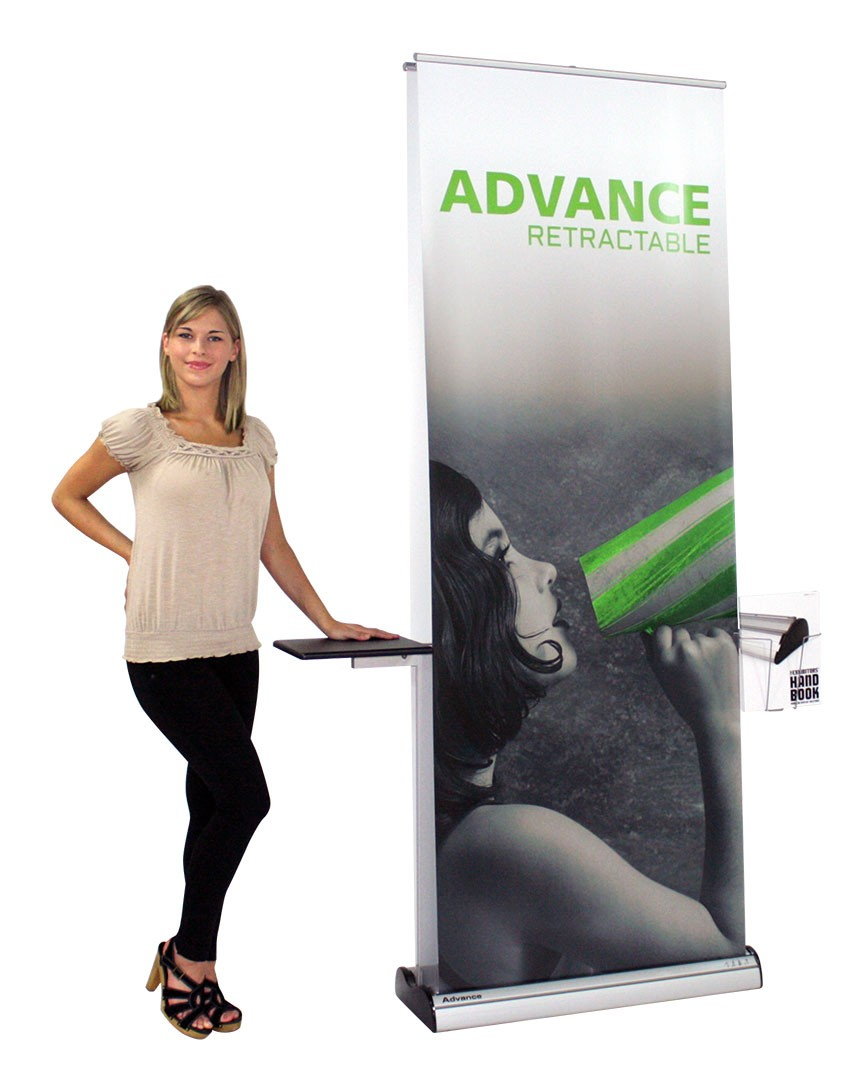 Advance Double Sided Retractable Banner Stand