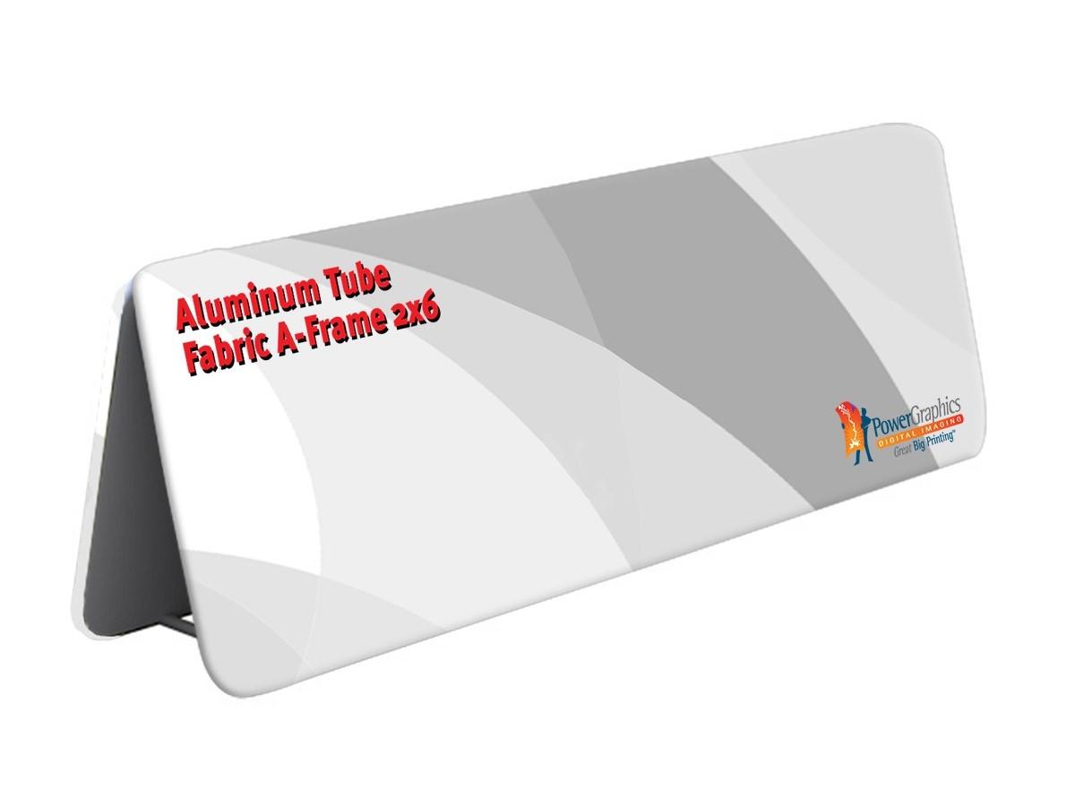 Aluminum Tube Fabric A-Frame 2x6