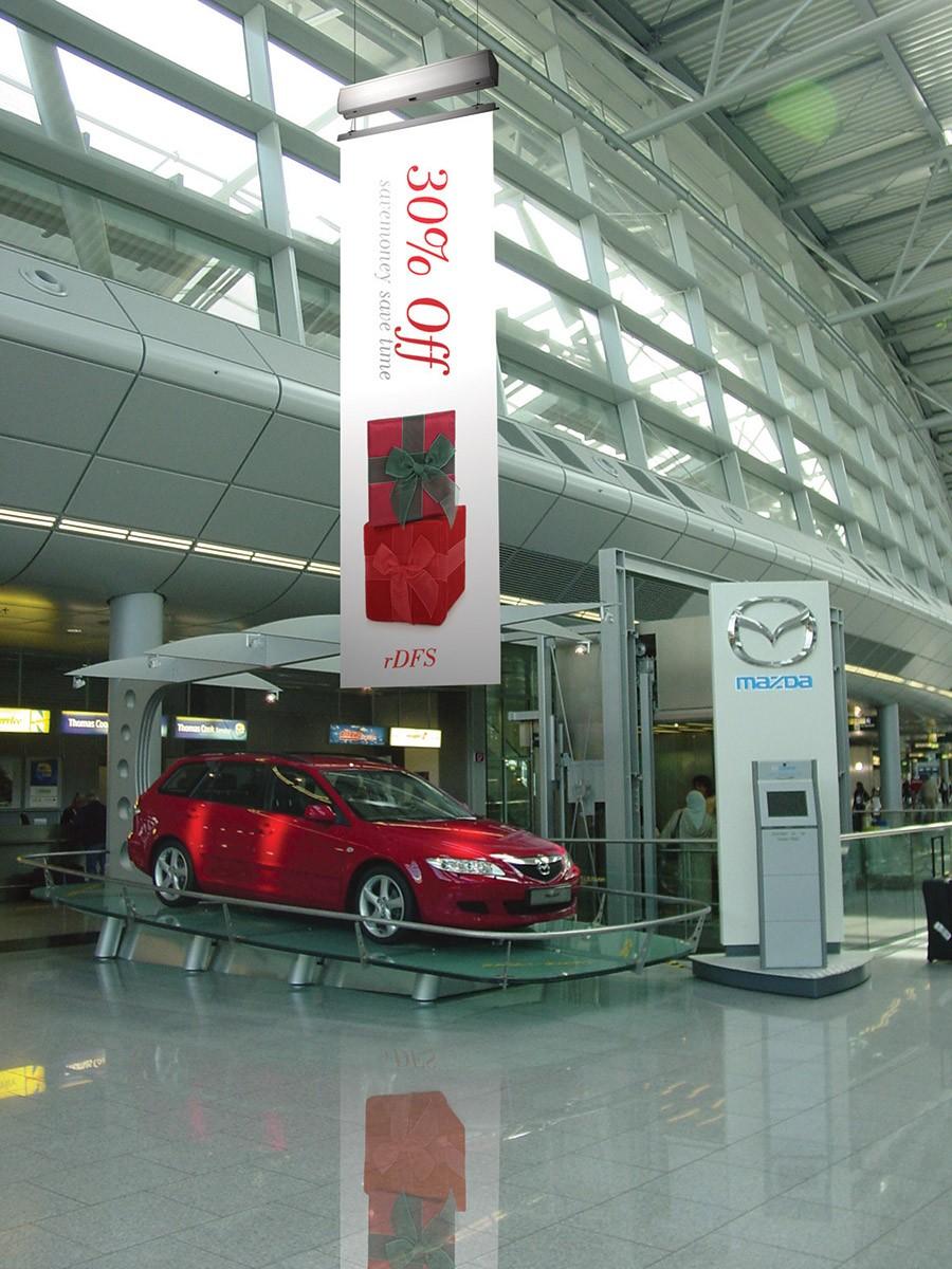 Auto Flying Banner Hoist