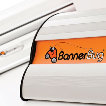 Banner Bug 33 Double Two Sided Retractable Banner Stand