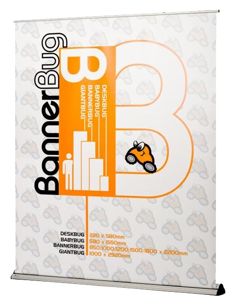 Banner Bug 72 Retractable Banner Stand