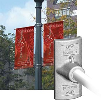 BannerFlex Jr Light Pole Banner Bracket