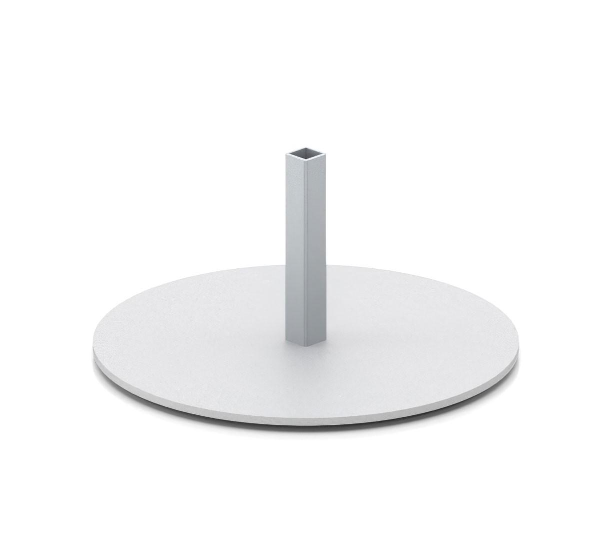 Cashier Shield Round Adhesive Base