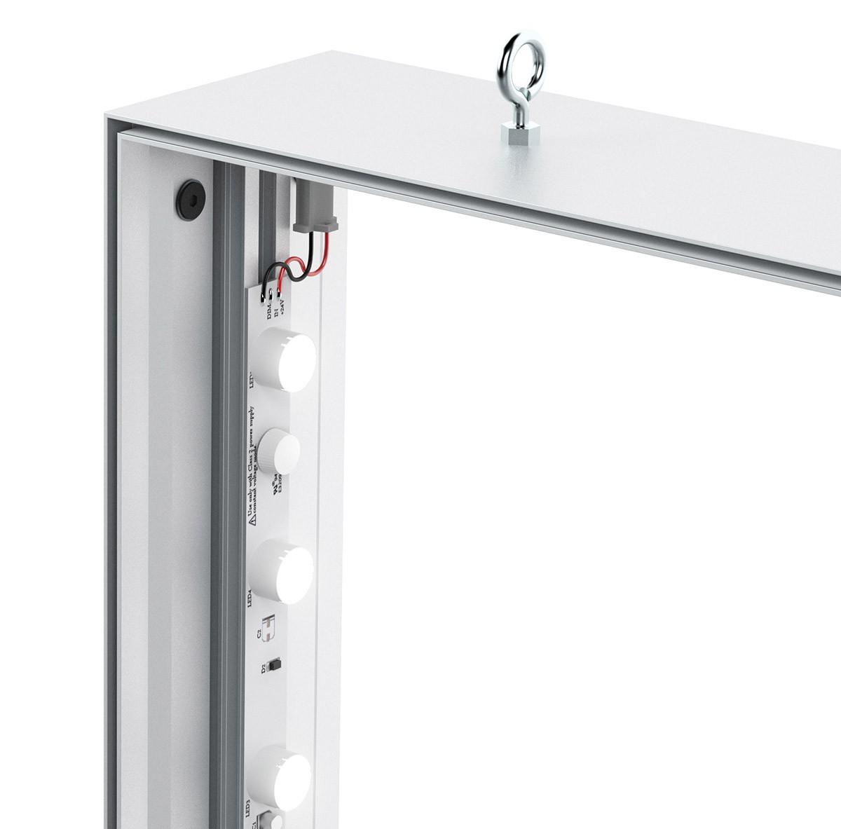 Charisma 72x108 Double Sided LED SEG Fabric Light Box