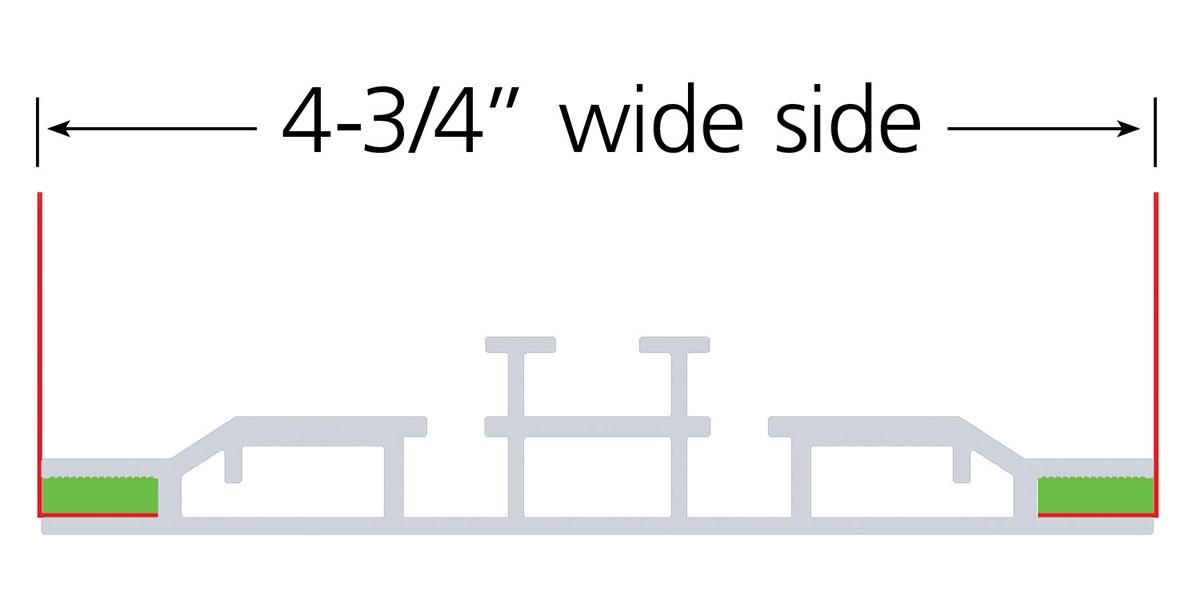 Charisma 48x72 Double Sided LED SEG Fabric Light Box