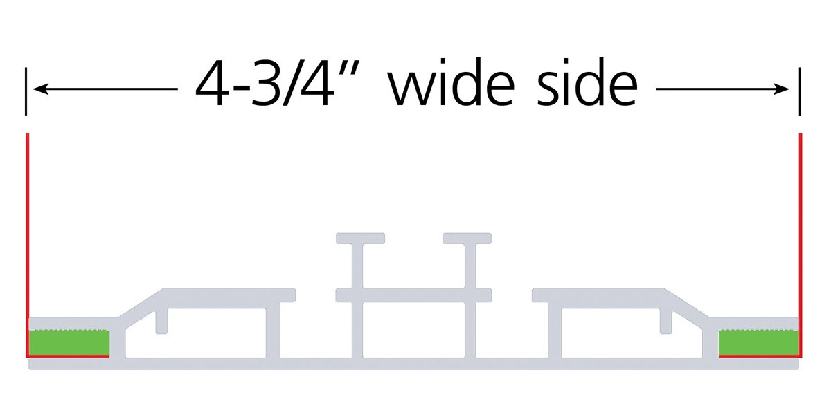 Charisma 120x90 Double Sided SEG Display