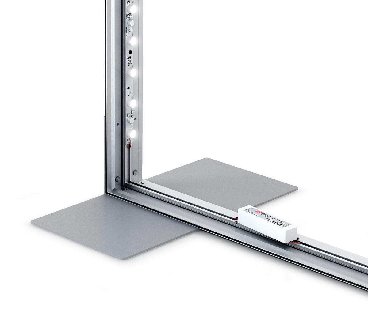 Charisma 96x90 Single Sided LED SEG Fabric Light Box