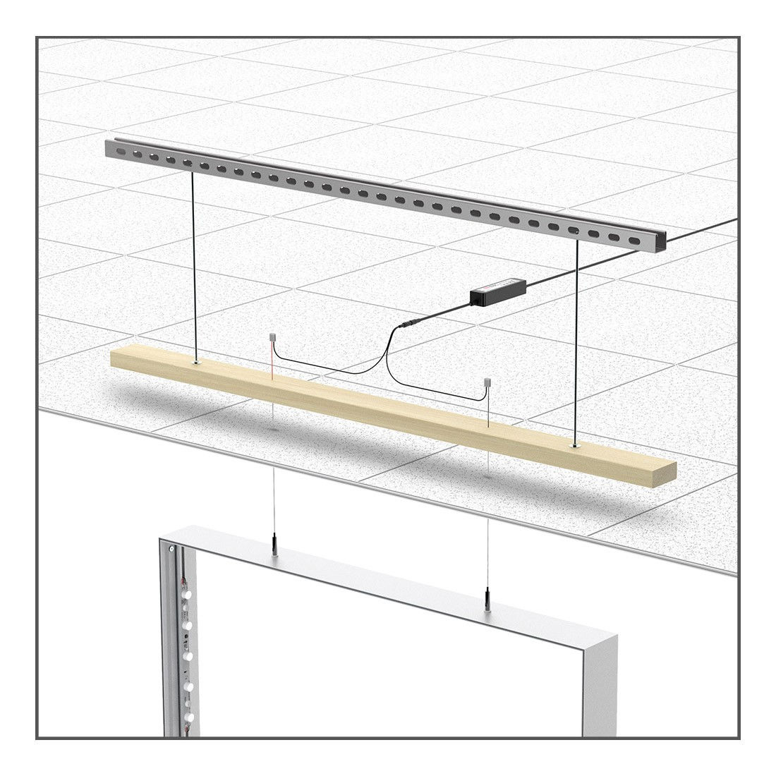 Charisma with LightWire SEG Electrified Hanging Cables