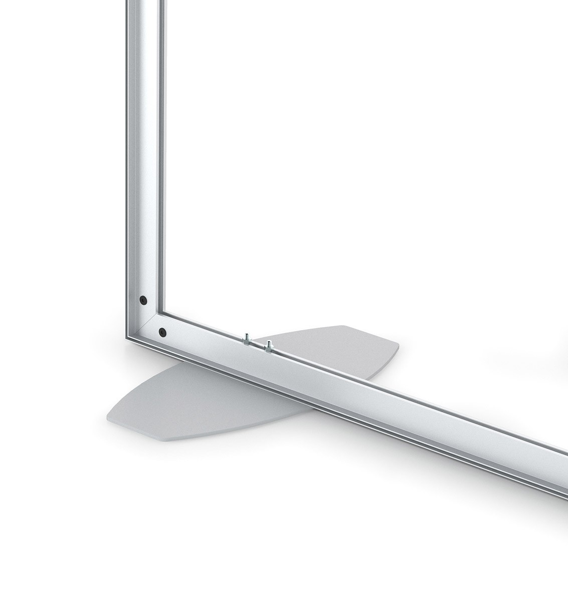 Charisma 72x120 Single Sided SEG Fabric Frame