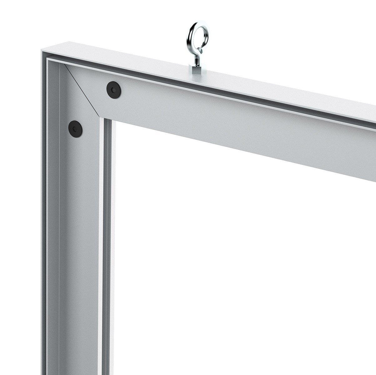Charisma 24x48 Double Sided SEG Fabric Frame | Power-Graphics.com