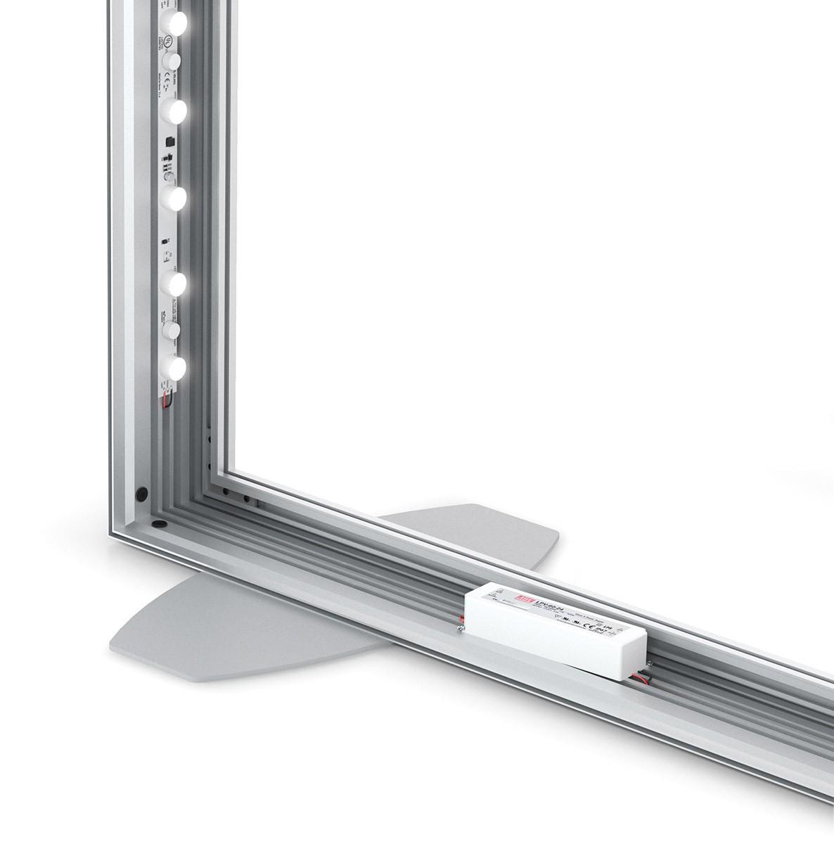 Charisma 48x96 Single Sided LED SEG Fabric Light Box