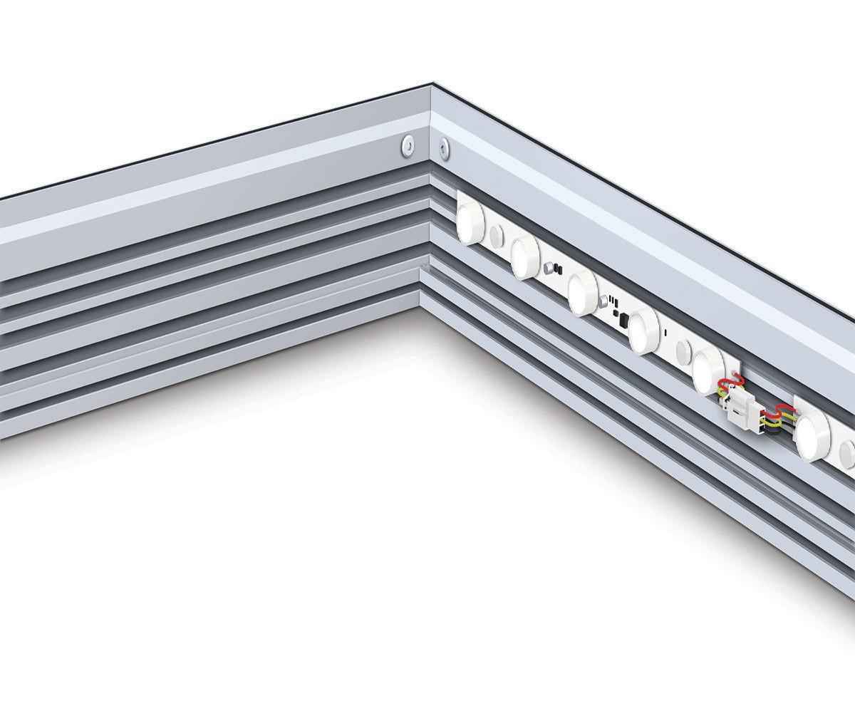 Charisma 72x108 Single Sided LED SEG Fabric Light Box