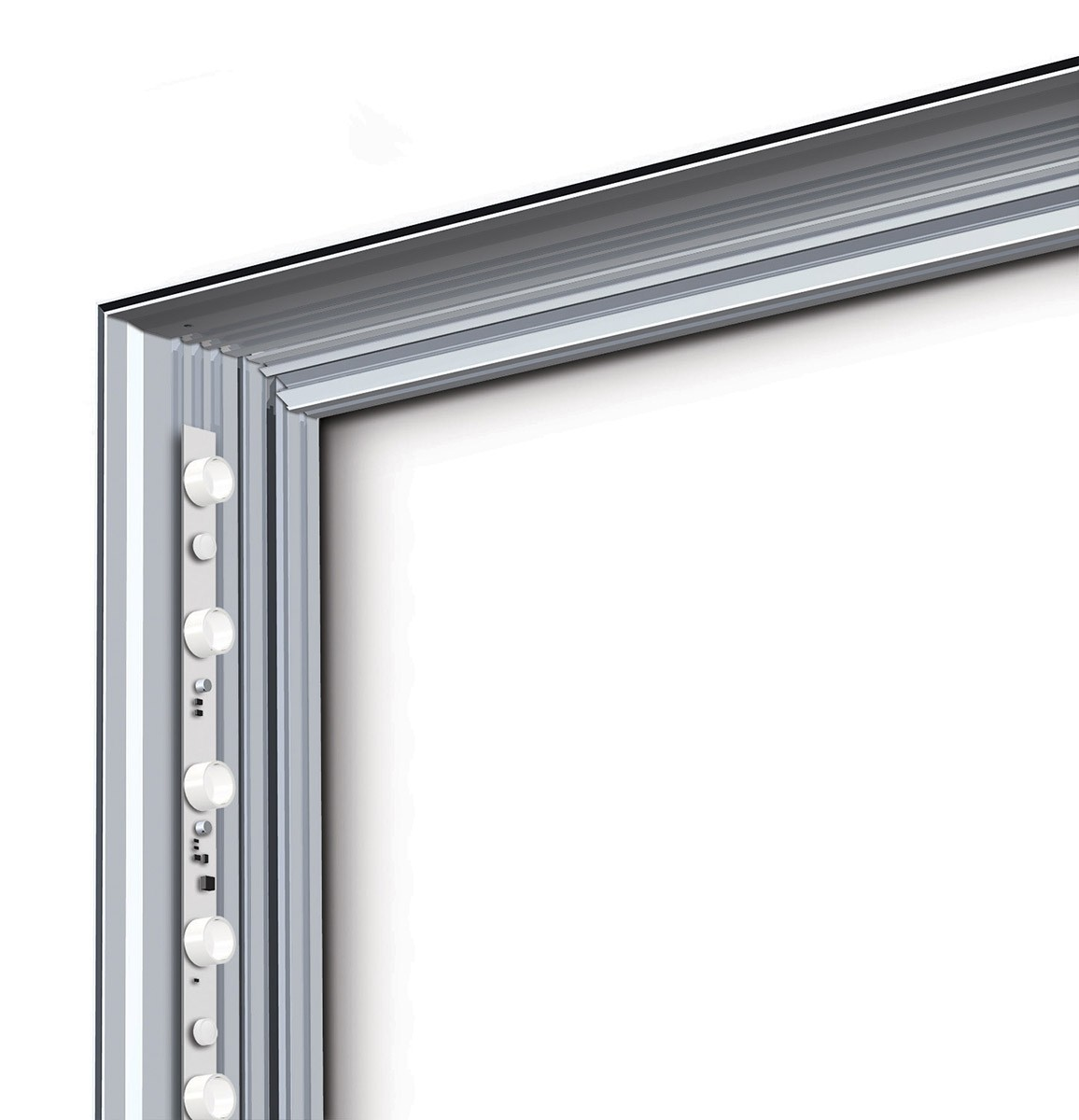 Charisma 48x72 Single Sided LED SEG Fabric Light Box