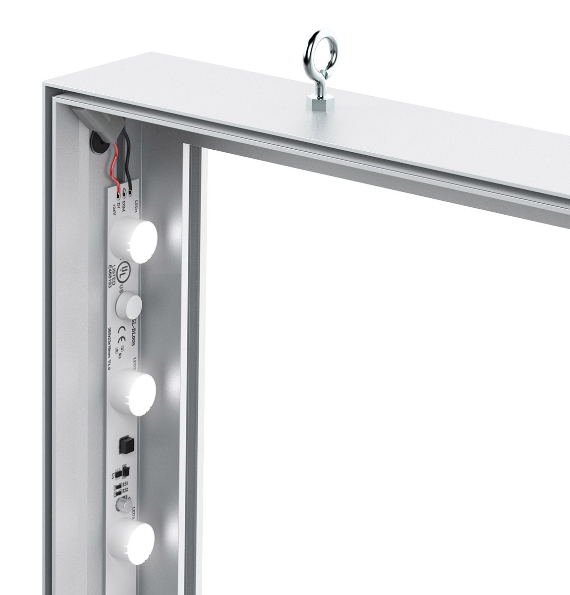 Charisma 60x96 Slim LED SEG Fabric Light Box