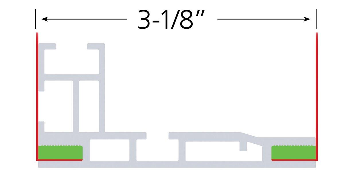 Charisma 48x72 Slim LED SEG Fabric Light Box