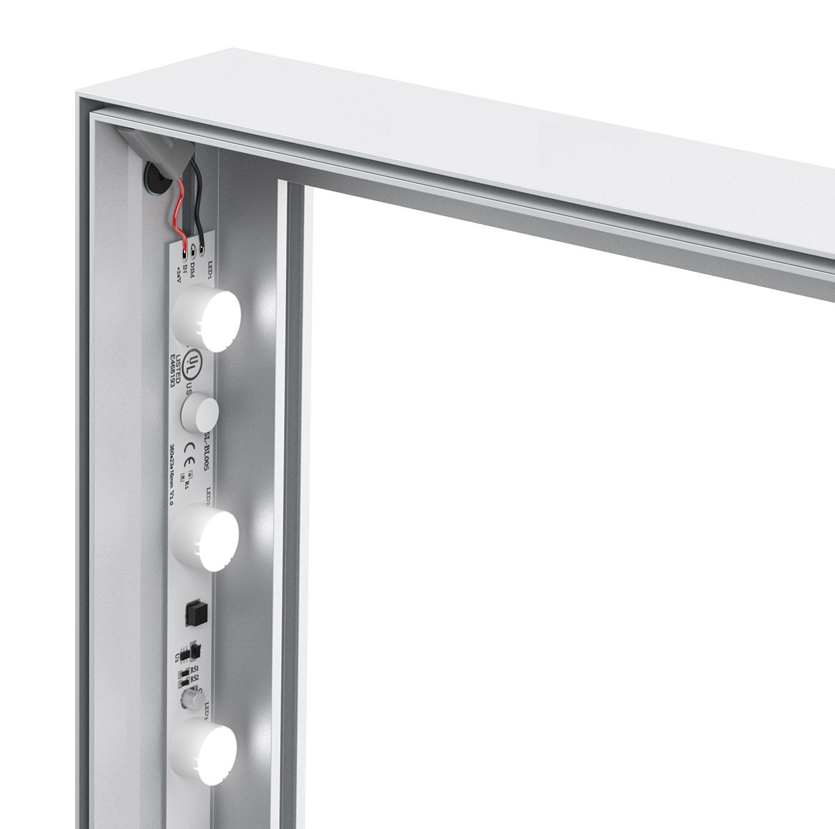 Charisma 48x96 Slim LED SEG Fabric Light Box