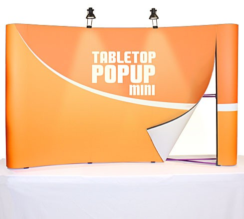 Coyote Mini 3x2 Table Top Pop Up Display