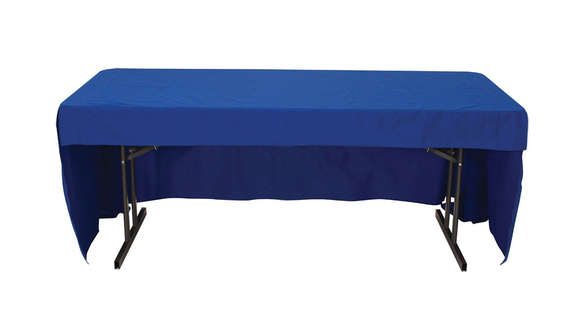 Blank Table Cover For 6 Foot Table Power Graphics Com
