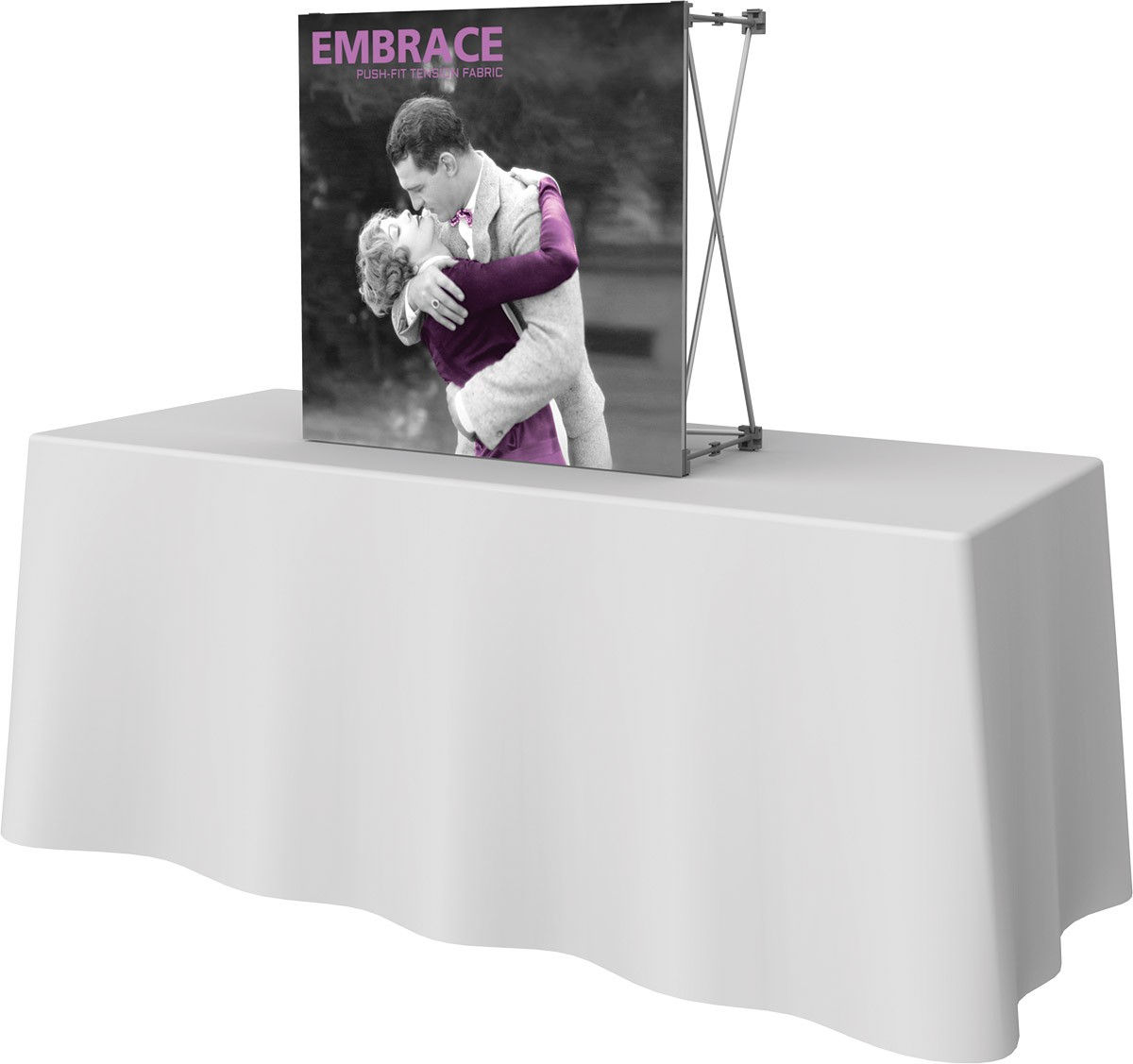 Embrace 2.5' Table Top Display