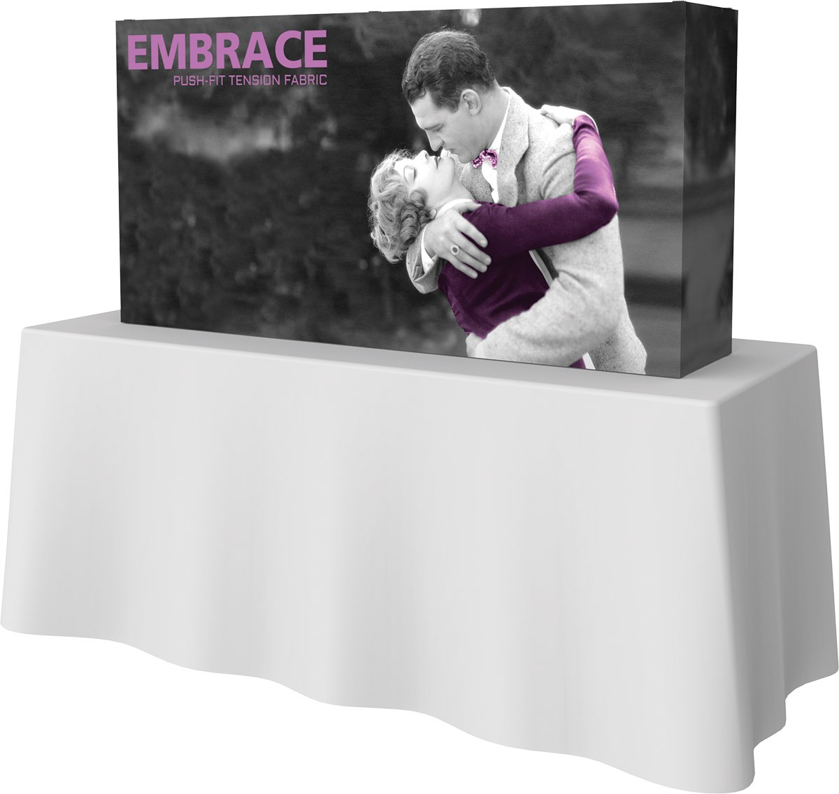 Embrace 5' x 2.5' Table Top Display