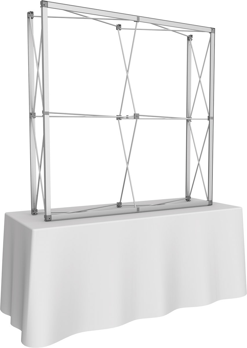 Embrace 5' x 5' Table Top Display