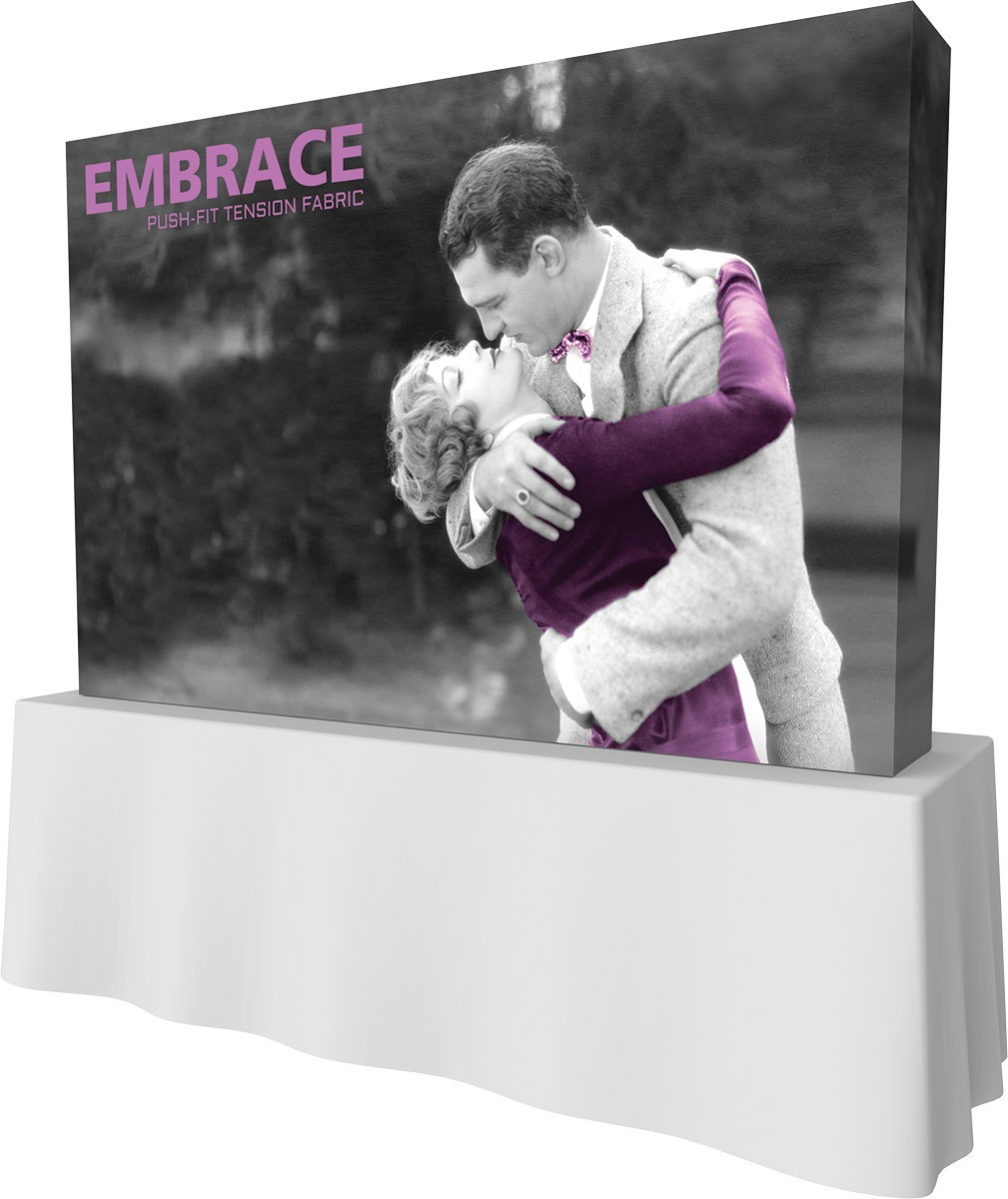 Embrace 8' x 5' Table Top Display