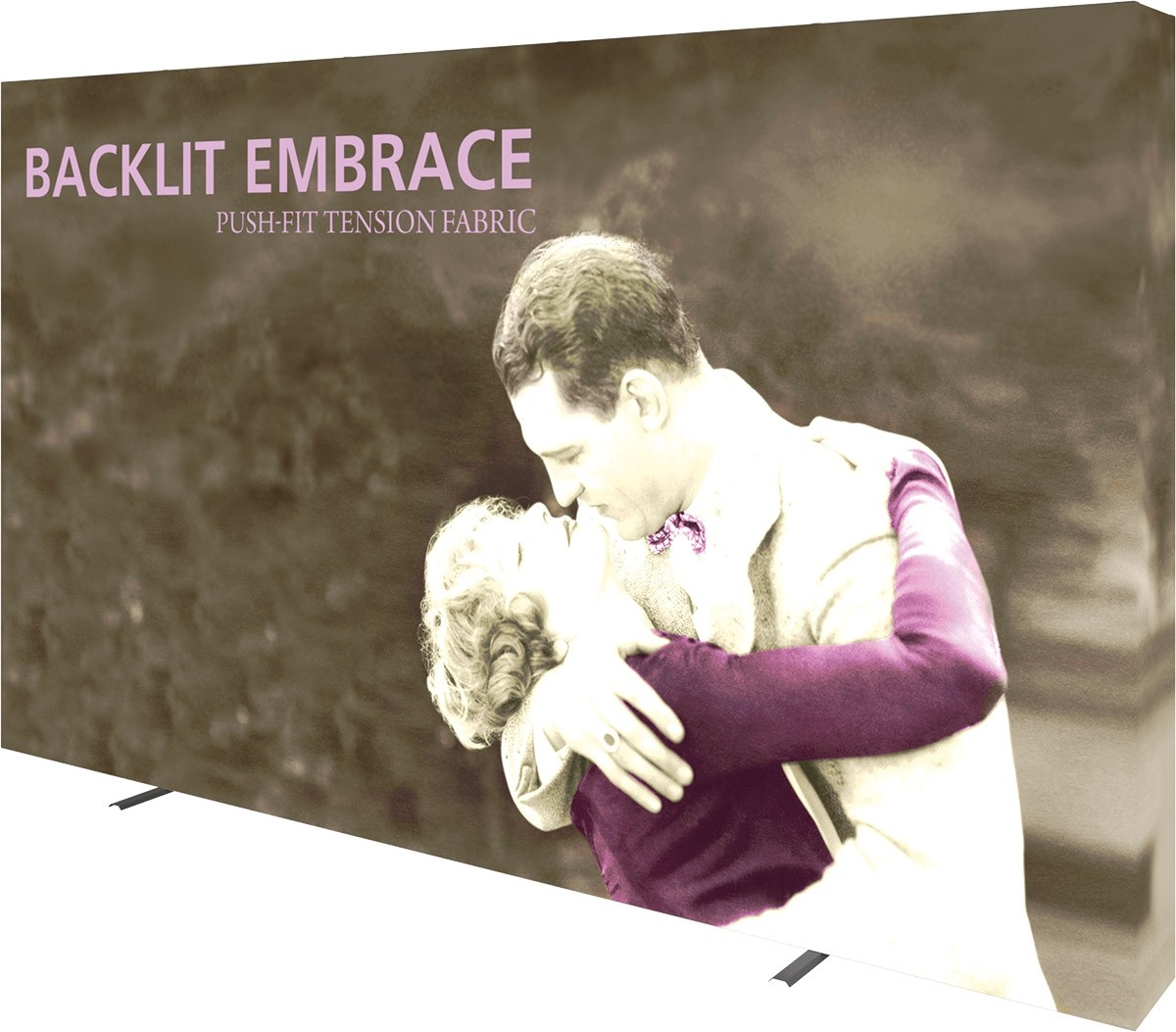 Embrace Backlit 12' Tension Fabric Display