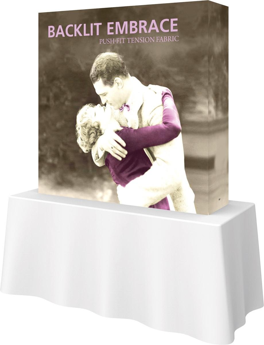 Embrace Backlit 5' Table Top Display