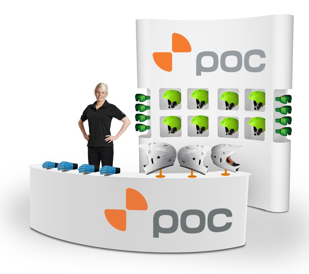 Expand 2000 Wing Pop Up Trade Show Display
