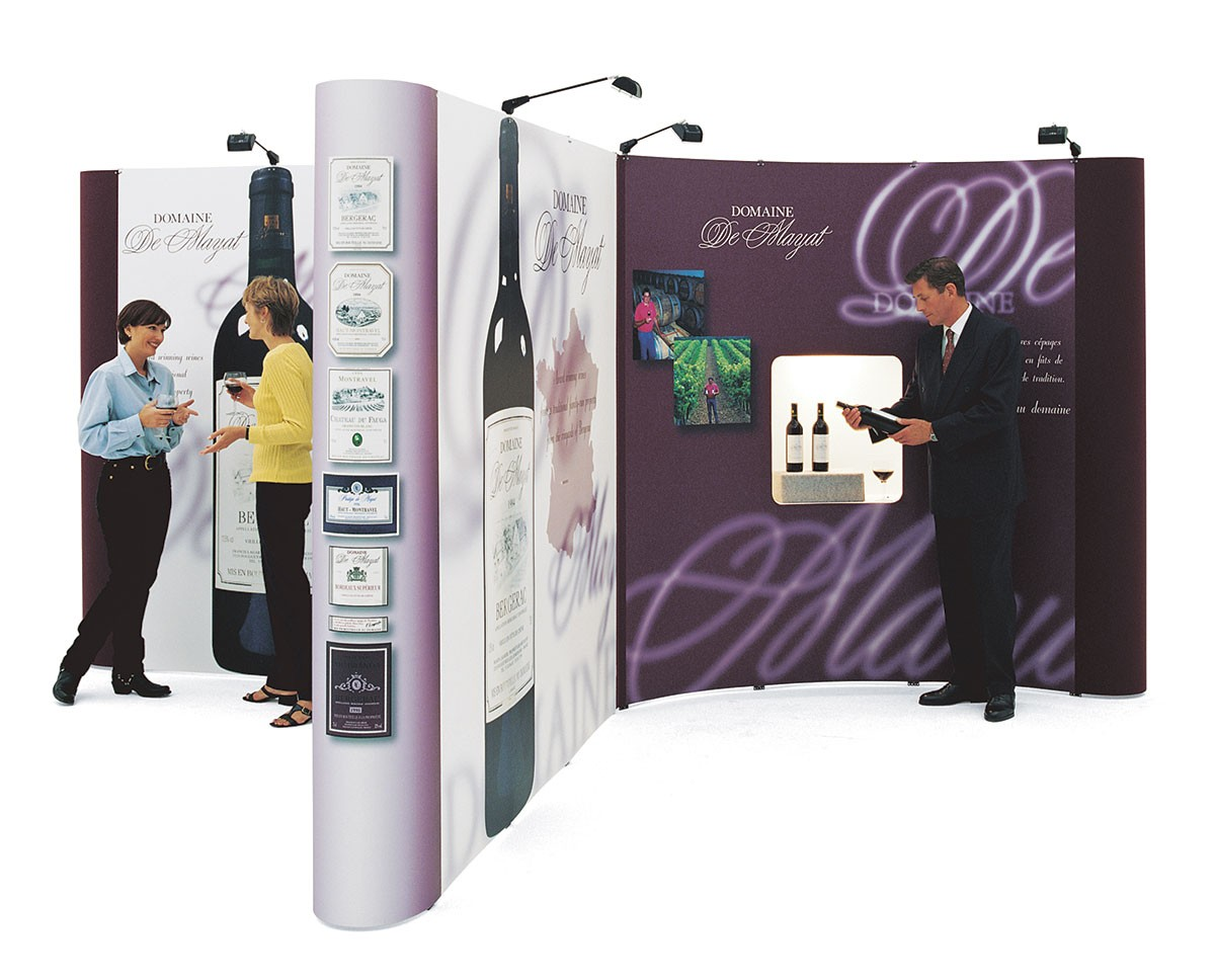 Expand 2000 T-Shape Pop Up Trade Show Display