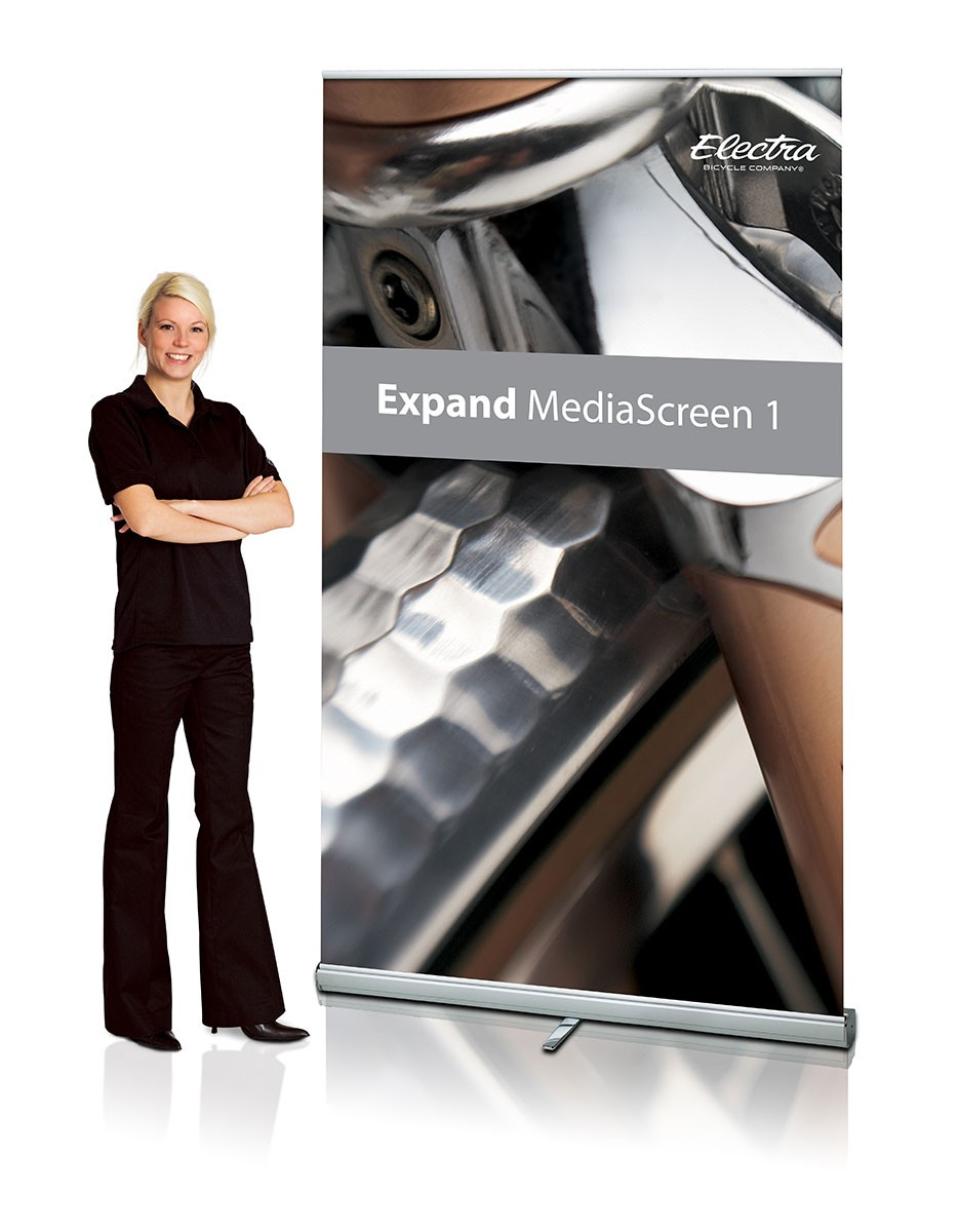 Expand MediaScreen 1 60 Retractable Banner Stand