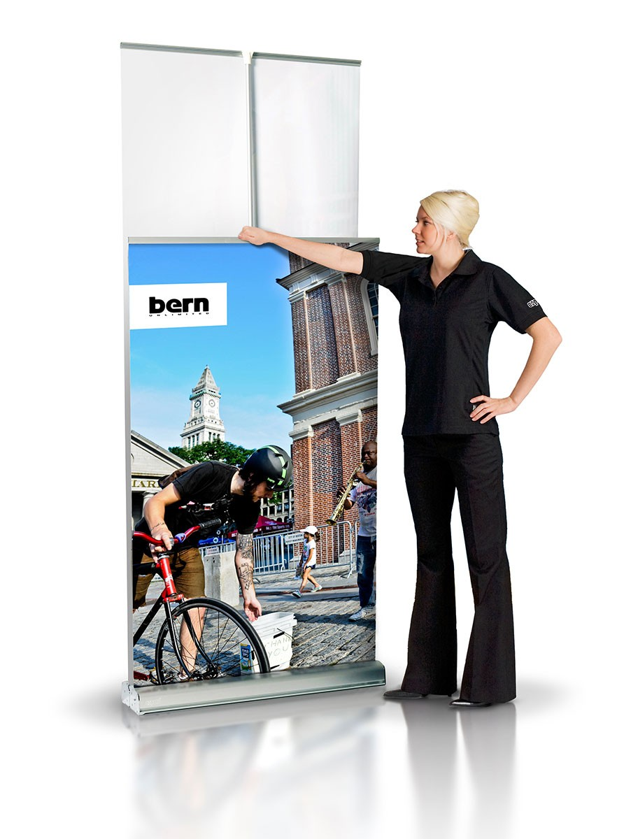 Expand MediaScreen 2 33 Retractable Banner Stand
