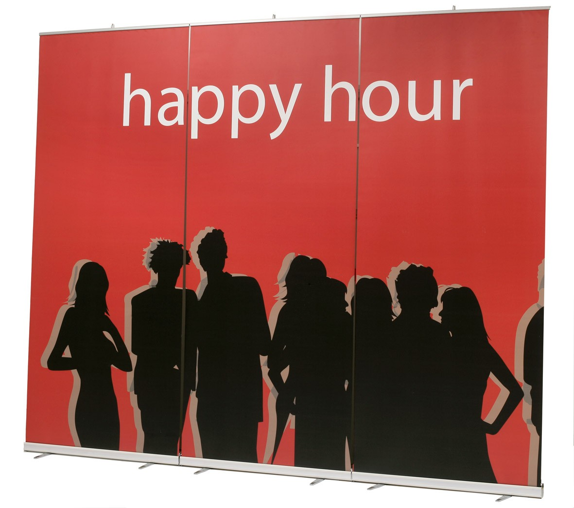MediaScreen XL 48 Retractable Banner Wall
