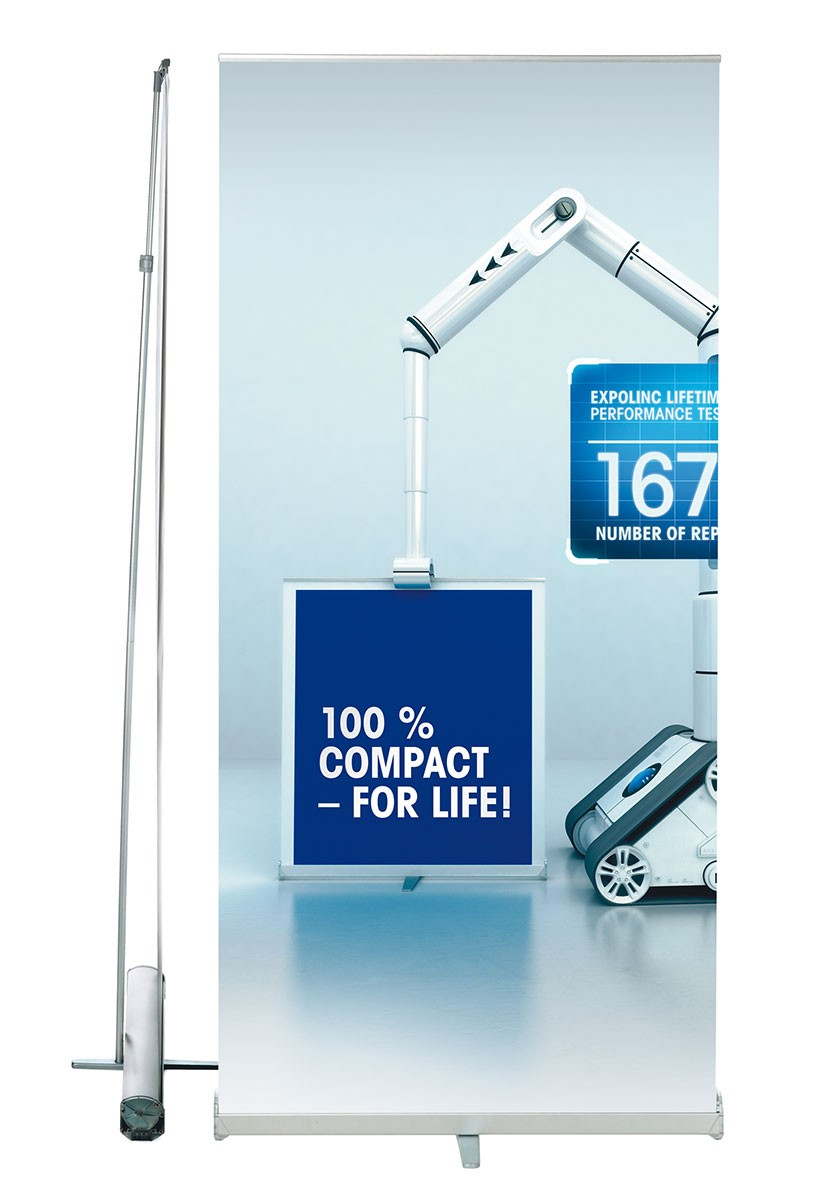 Expolinc Roll Up Compact 39 Retractable Banner Stand