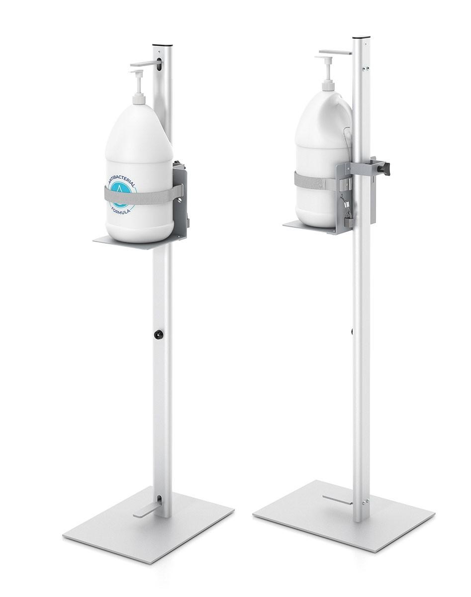 Gallon Hand Sanitizer Pump Dispenser Stand