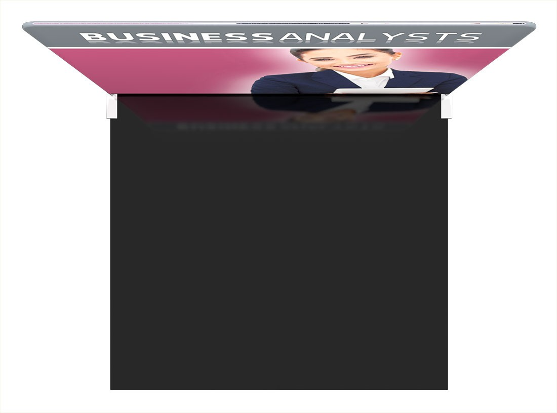 Formulate Essentials 10 ft Straight Wall Tension Fabric Display