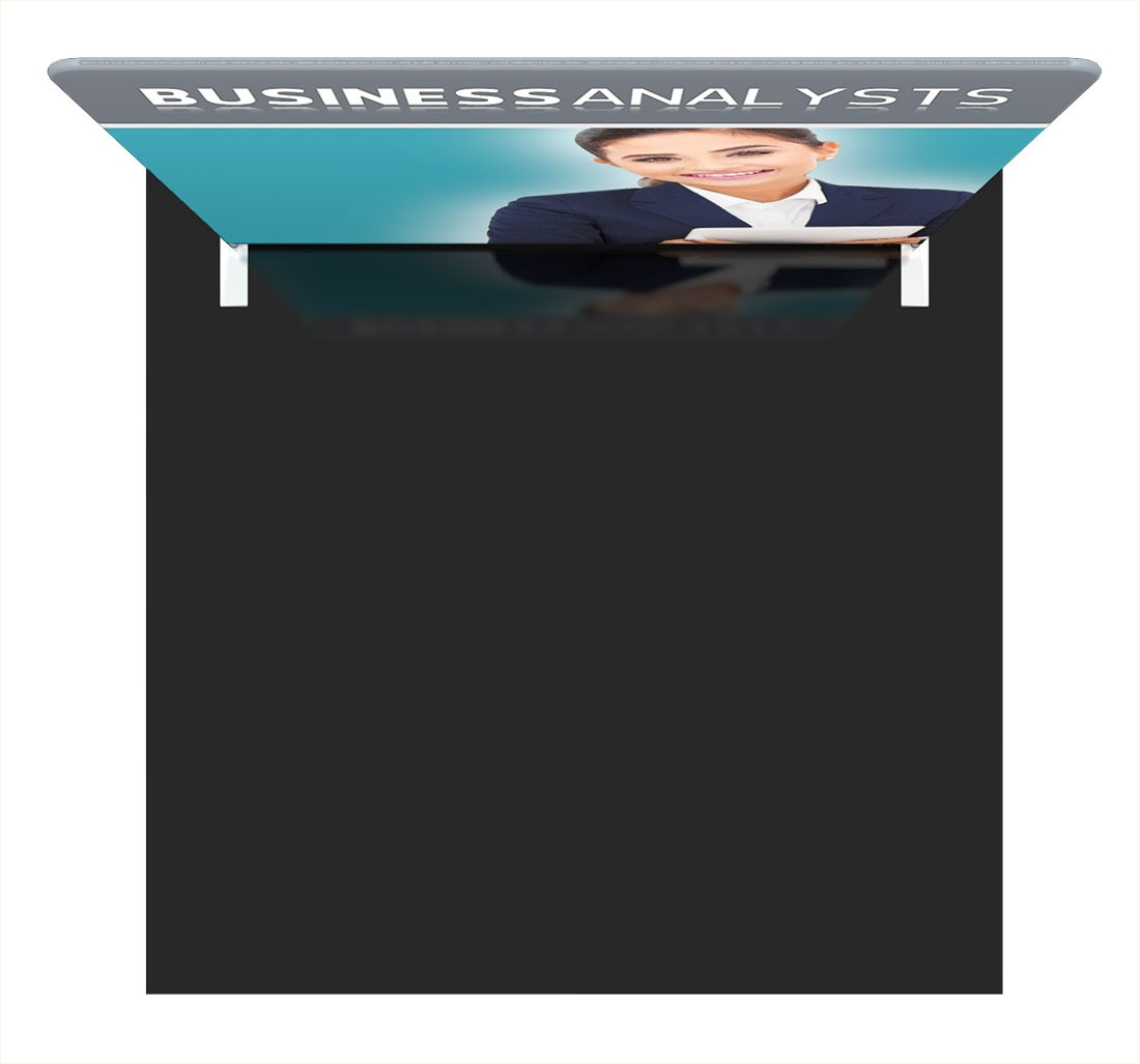 Formulate Essentials 8 ft Straight Wall Tension Fabric Display