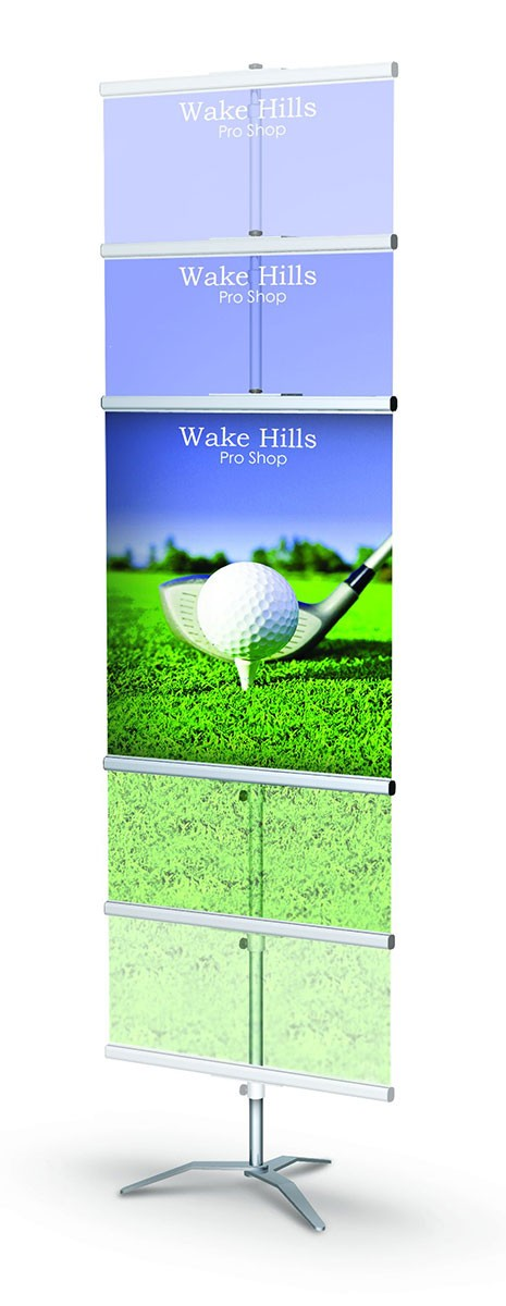 GripGraphic Banner Stand 36 Portable Banner Stand