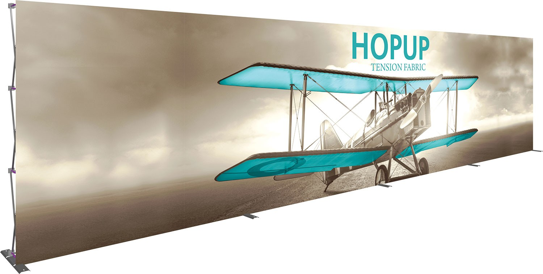 Hopup 30' Tension Fabric Pop Up Display