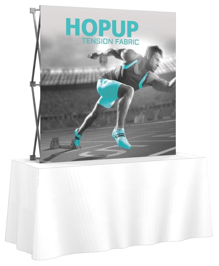 ... HopUp 2x2 Tension Fabric Table Top Display