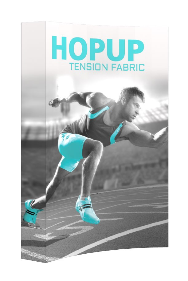 Hopup 2x3 Tension Fabric Pop Up Display
