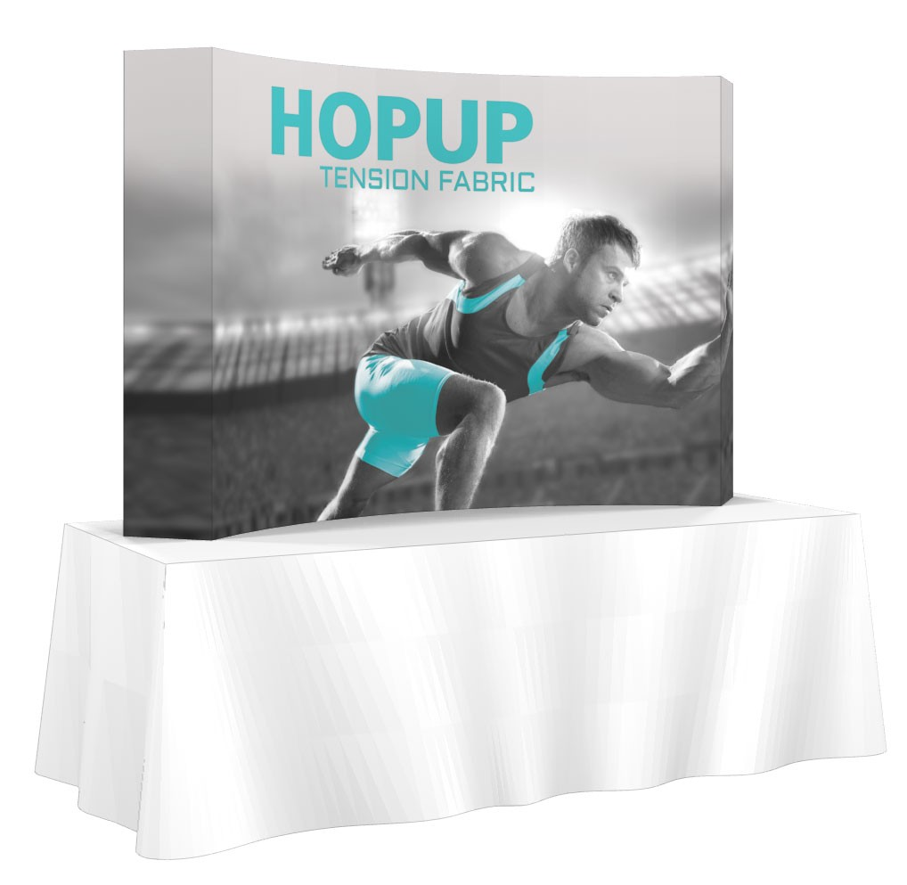 HopUp 3x2 Full Graphic with End Caps