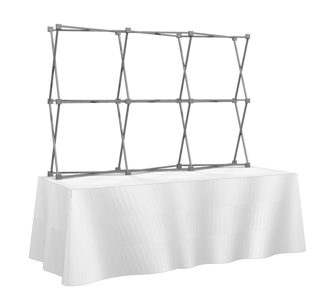 HopUp 3x2 Tension Fabric Table Top Display