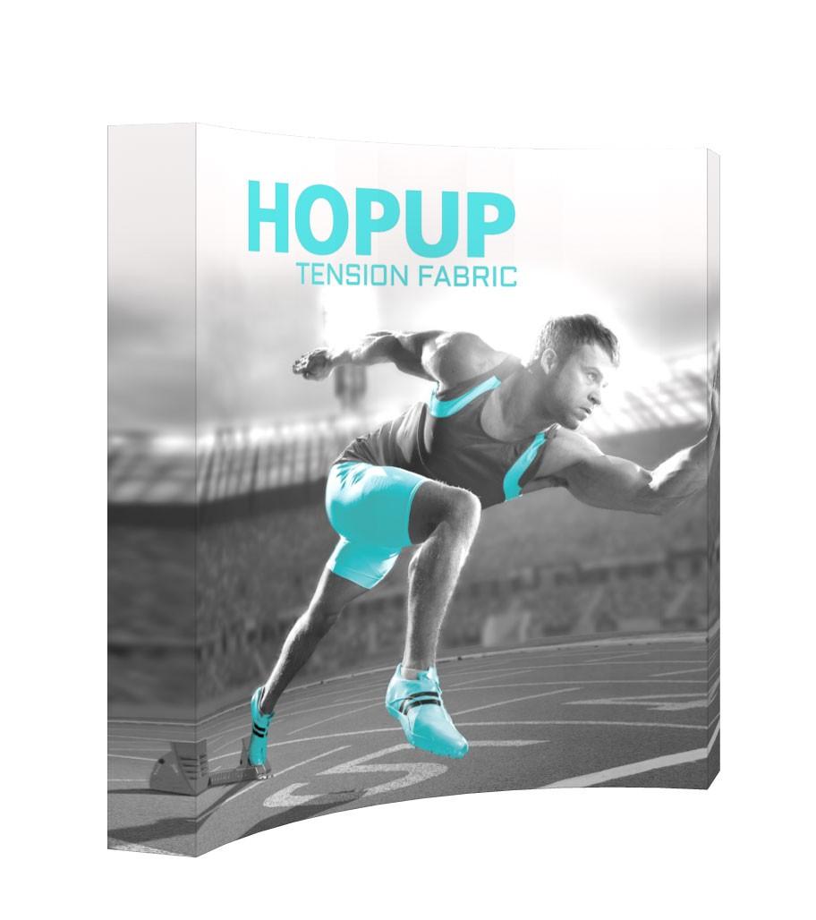 Hopup 3x3 Tension Fabric Pop Up Display