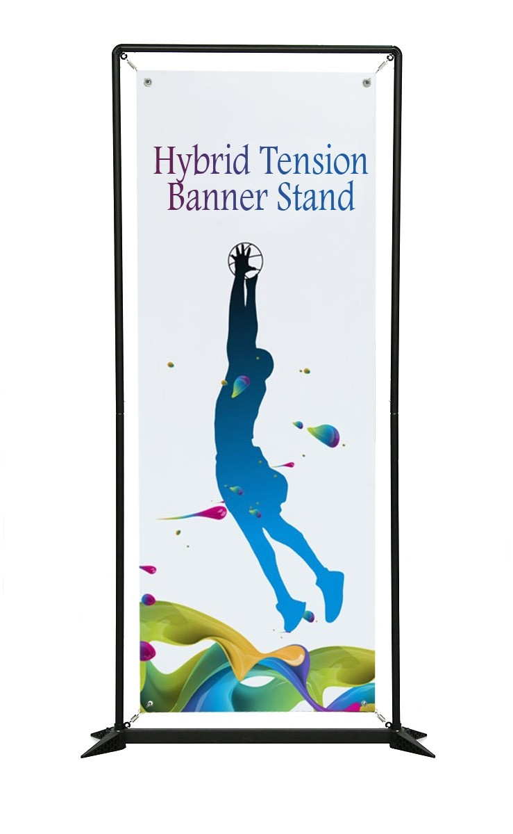 Hybrid Tension Banner Stand