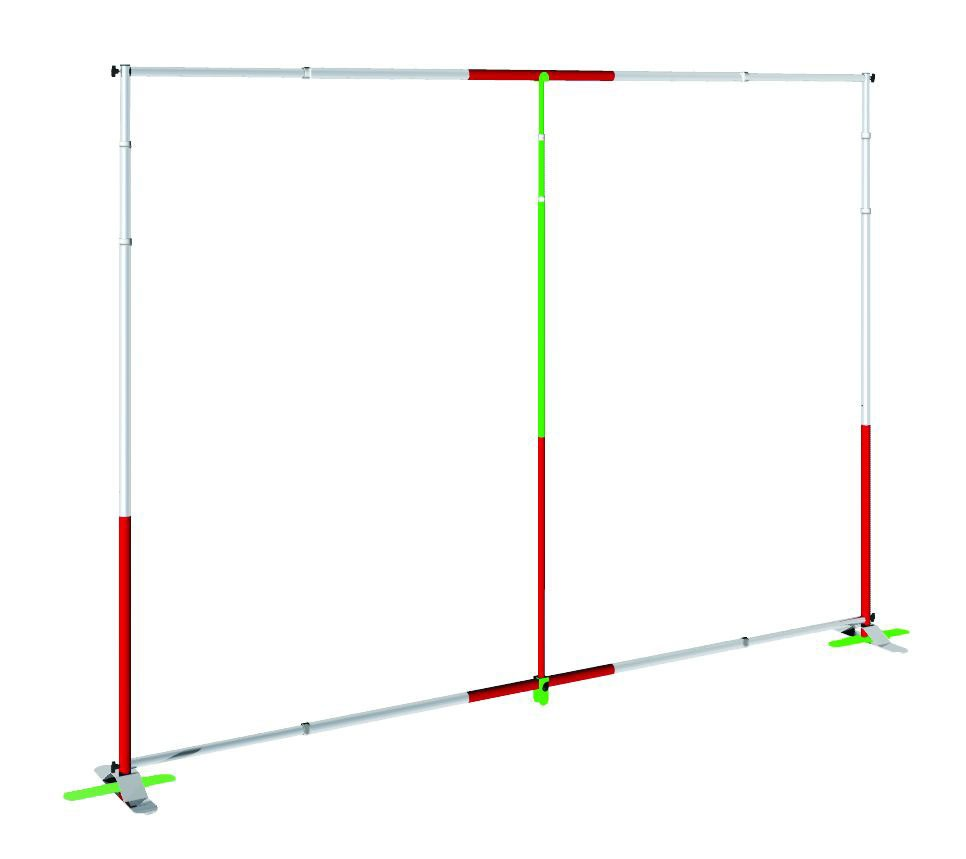 Grand Format Banner Stand 10' Conversion Kit