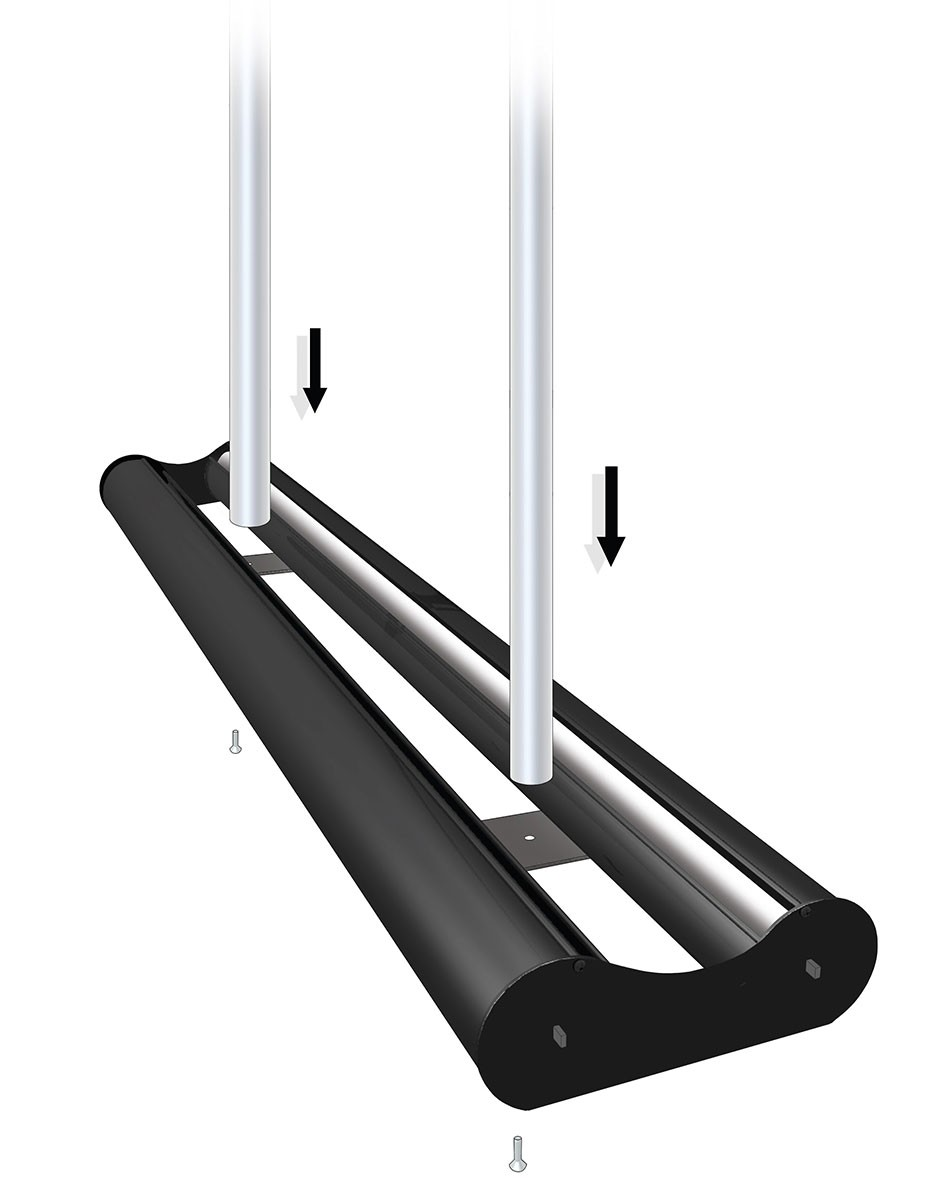 Mercury Double 60 Two Sided Retractable Banner Stand