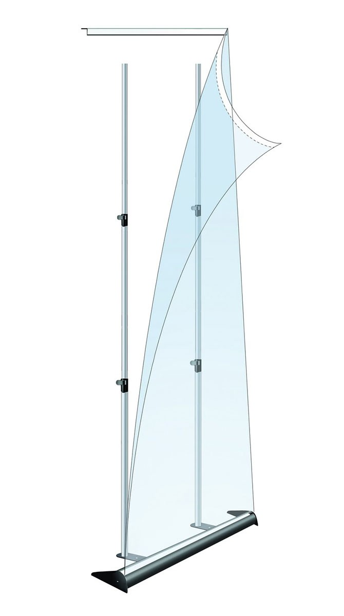 Mercury 48 Retractable Banner Stand