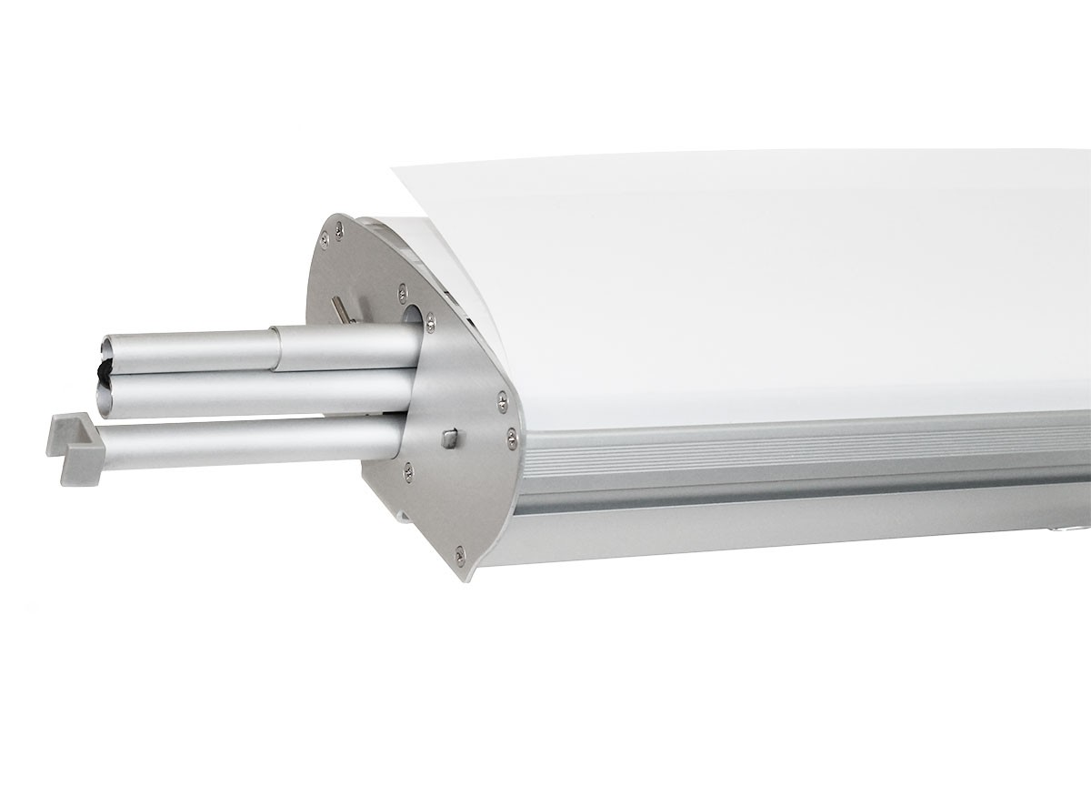 Metro Double Two Sided Roll Up Banner Stand