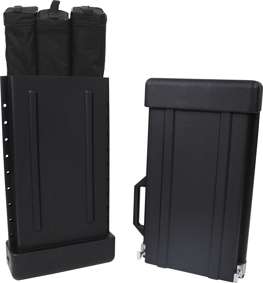 Adjustable Banner Stand Case Power Graphics Com
